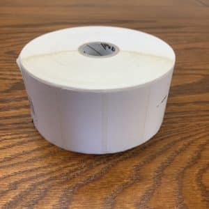 Low Adhesive Labels – 1 Roll (1,300 Labels/Roll)